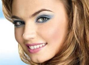 Вечерний макияж для серых глаз фото