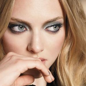 Макияж для серых глаз блондинок