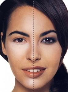 Макияж для увеличения глаз - оттенки