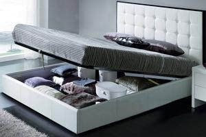 Конструкция и каркас двуспальной кровати