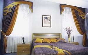 Шторы для спальни - идеи и фото