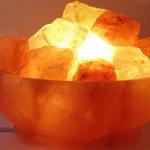Солевая лампа для дома