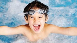 Уроки плавания для детей