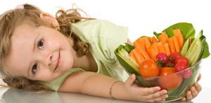 Витамины в рационе детей